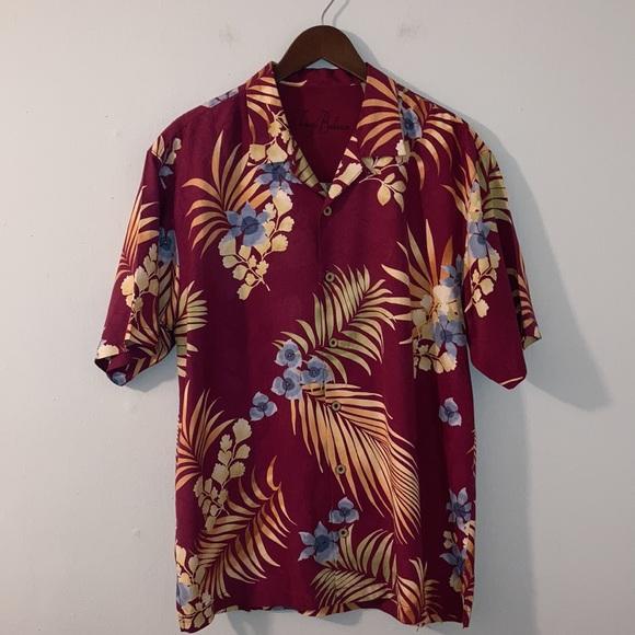 Tommy Bahama Hawaiian Silk Shirt